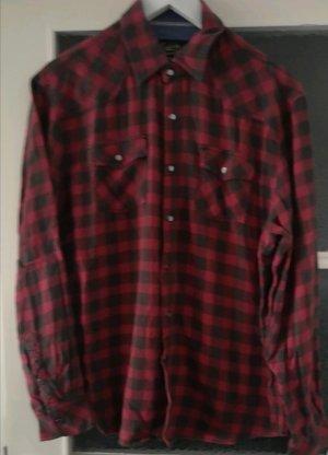 Flannel Shirt dark red