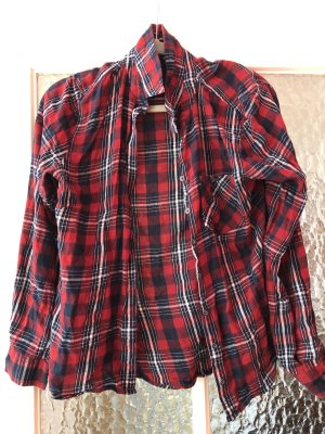 Blue Motion Lumberjack Shirt brick red