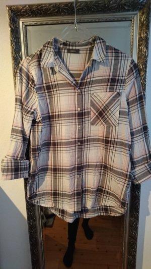 Yessica Camisa de leñador multicolor