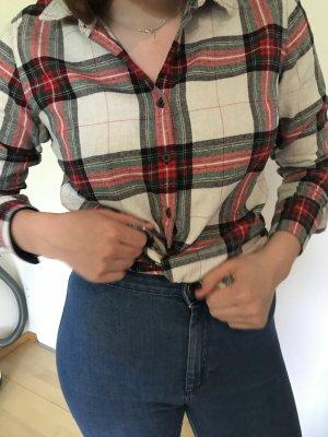 Marie Lund Camisa de leñador multicolor Algodón