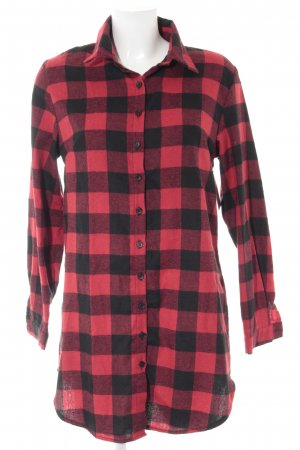 Lumberjack Shirt black-red Vichy check pattern casual look
