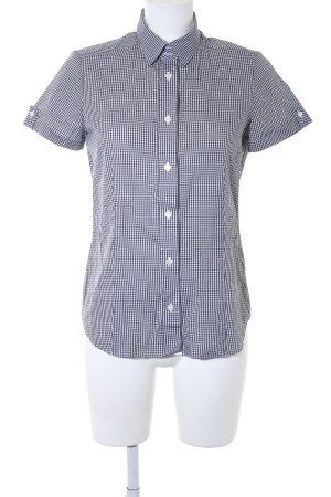 Chemise de bûcheron noir-blanc motif à carreaux style décontracté