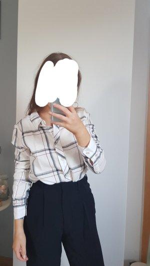 Cubus Chemise de bûcheron blanc-blanc cassé coton