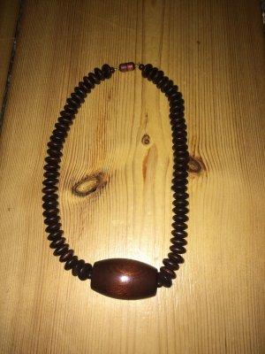 Collana nero-marrone-nero