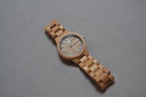 Reloj multicolor madera