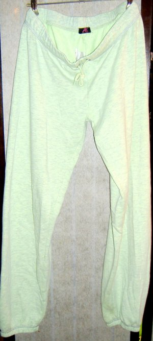 Home Wear Chill-Hose blassgrün-meliert