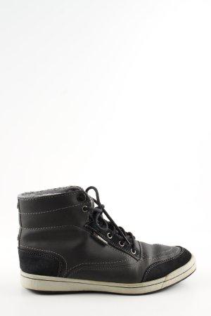 Homeboy High Top Sneaker grau-schwarz Casual-Look
