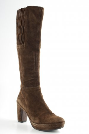 Homers Heel Boots brown classic style