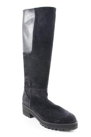 Homers Heel Boots black casual look