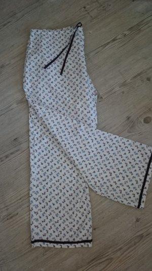 Pyjama wolwit-grijs-lila