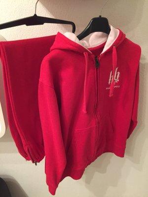 Abbigliamento sportivo rosso Cotone