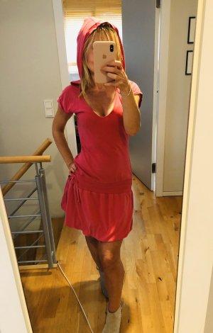 Big Star Hooded Dress pink