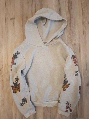 Hooded Sweater light grey