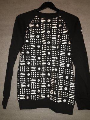 Sublevel Crewneck Sweater black-white