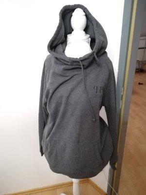 Maglione con cappuccio grigio scuro