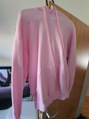 Pull oversize rose clair