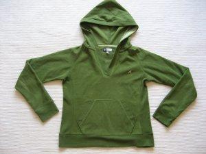 hoodie active gruen gr. s s 36 fleece