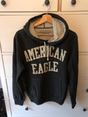 American Eagle Outfitters Capuchon sweater antraciet