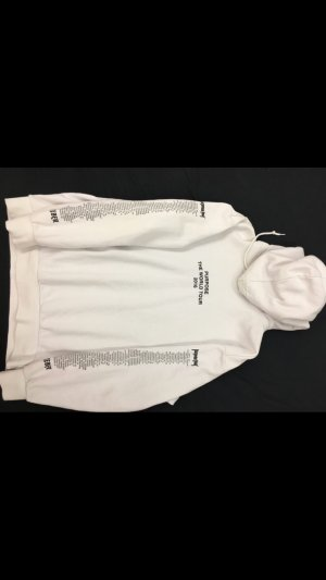 H&M Hooded Sweater white