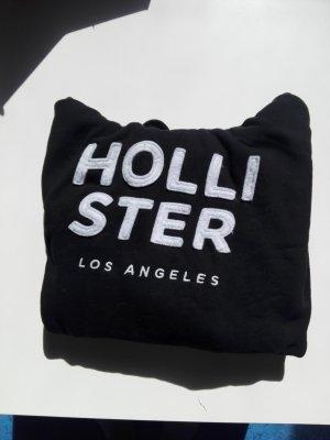 Hollister Capuchon sweater wit-zwart