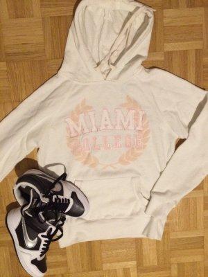 Hoodie damen Cooler hipster college miami hipster pulli pullover kapuze 34/36