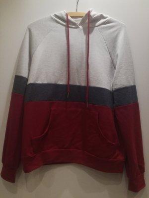 Sheinside Camicia con cappuccio multicolore