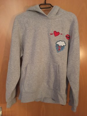 H&M Hooded Sweatshirt multicolored