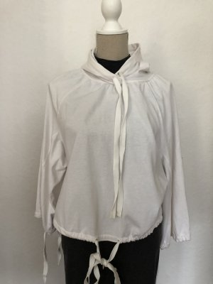 H&M Studio Hooded Sweater white