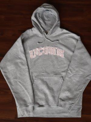Sweatshirt lichtgrijs-rosé