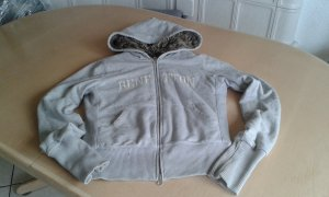 Benetton Hoody light grey mixture fibre