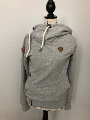 Naketano Pull à capuche gris clair-gris