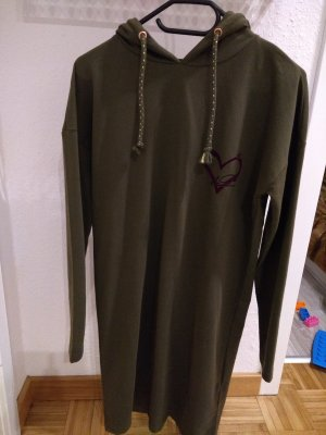 Only Sweater Dress olive green