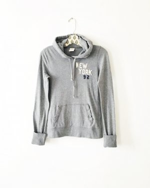 Abercrombie & Fitch Hooded Shirt grey-light grey
