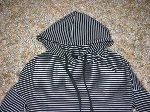 Hoodie mit modischen Streifenmuster, Gr. XS, Neu!