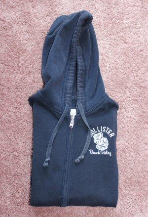 Hoodie mit Reißverschluss von Hollister in dunkelblau