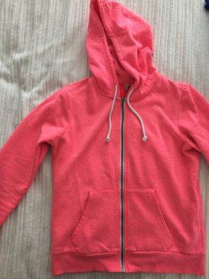 Hoodie pink meliert H&M