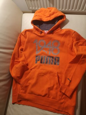 Puma Hooded Shirt orange