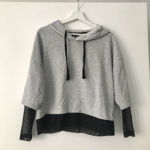 Reserved Jersey con capucha gris claro-negro