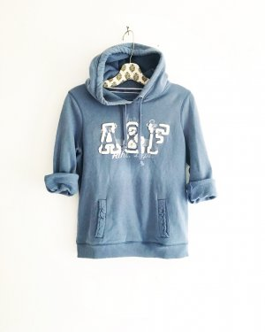 hoodie / sweater / abercrombie & fitch / blau / hellblau / casual / sweats