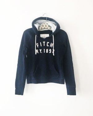 hoodie • sweater • abercrombie & fitch • dunkelblau