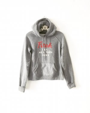 hoodie / sweater / abercrombie & fitch / grau / casual / homewear