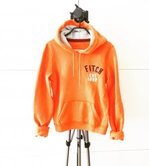 hoodie / sweater / abercrombie & fitch / orange
