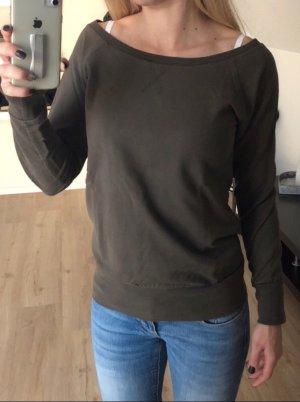 Suéter gris verdoso