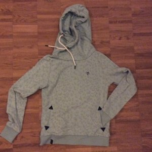 Hoodie Sweatshirt Naketano Gr. M Leolook in mint