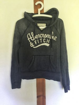 Hoodie von Abercrombie & Fitch im Used-Look