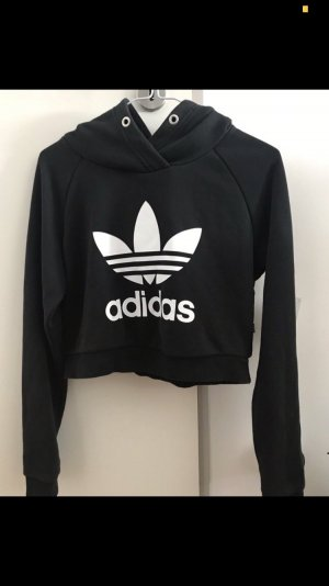 Adidas Hooded Sweater black-white
