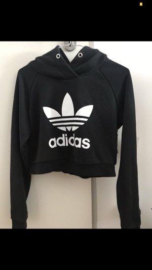 Adidas Capuchon sweater zwart-wit