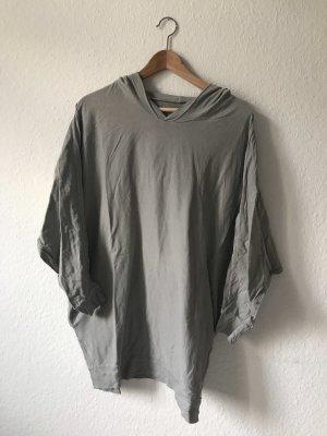 American Apparel Capuchon sweater lichtgrijs