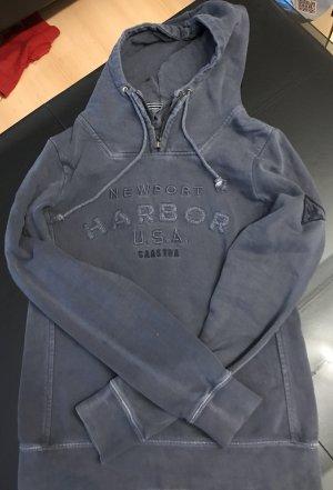 Hoodie von Gaastra Im Vintage Blau