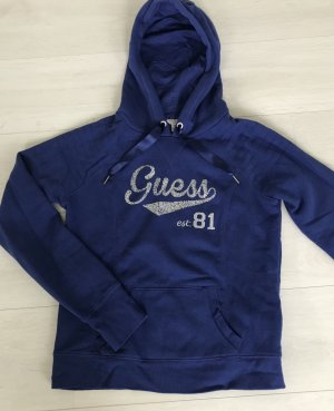 Guess Jersey con capucha azul